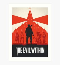 The Evil Within Art Print