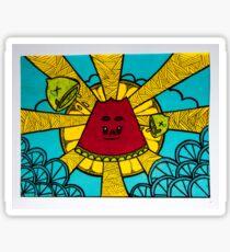 Summer Breeze Sticker