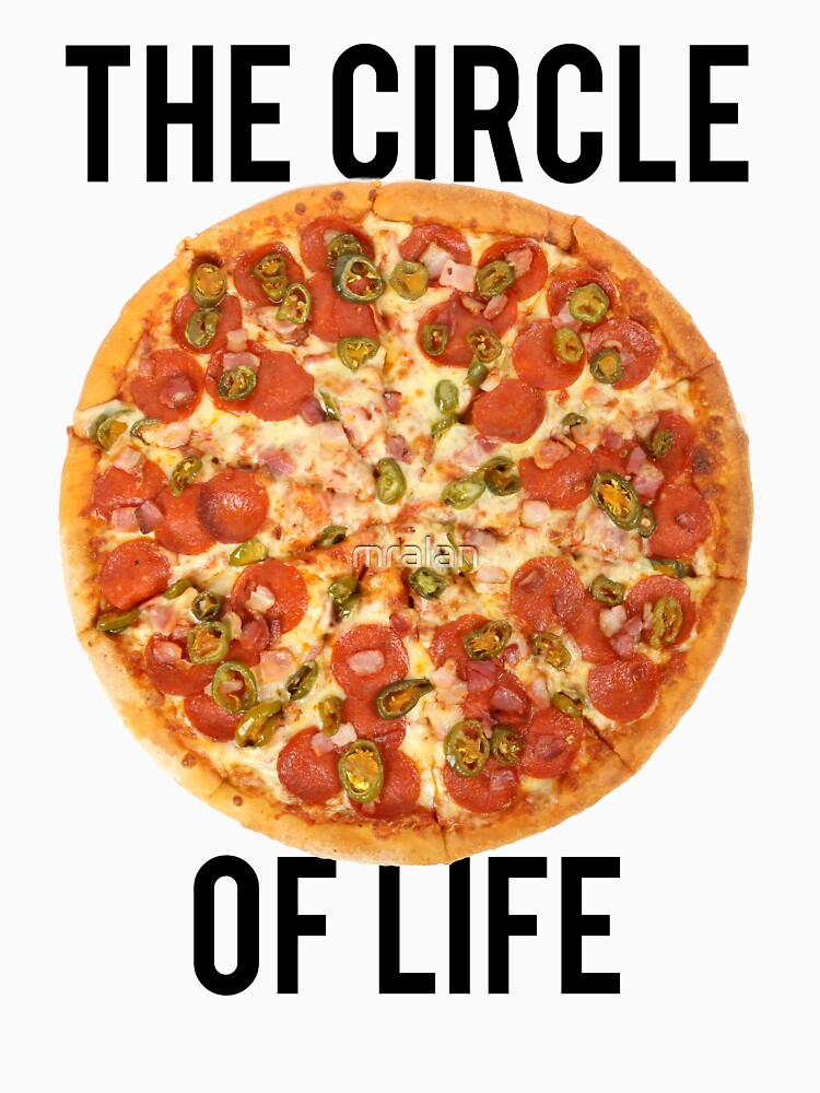 The Circle Of Life Pizza by mralan