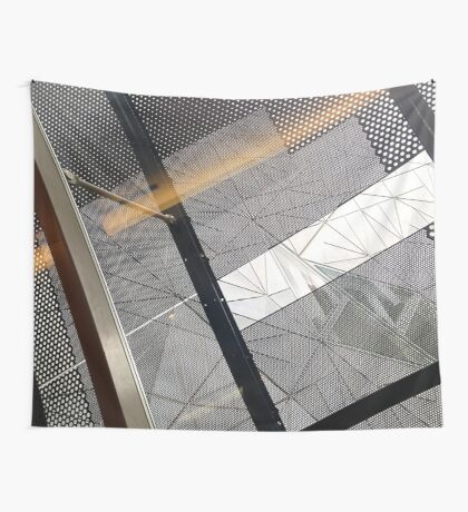 study in line Wall Tapestry