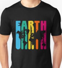 Vintage Retro Earth Map Earth Day 2018 Unisex T-Shirt