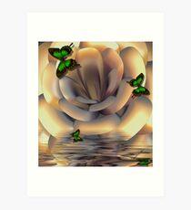 ~ INCENDIA FLOOD ~ Art Print