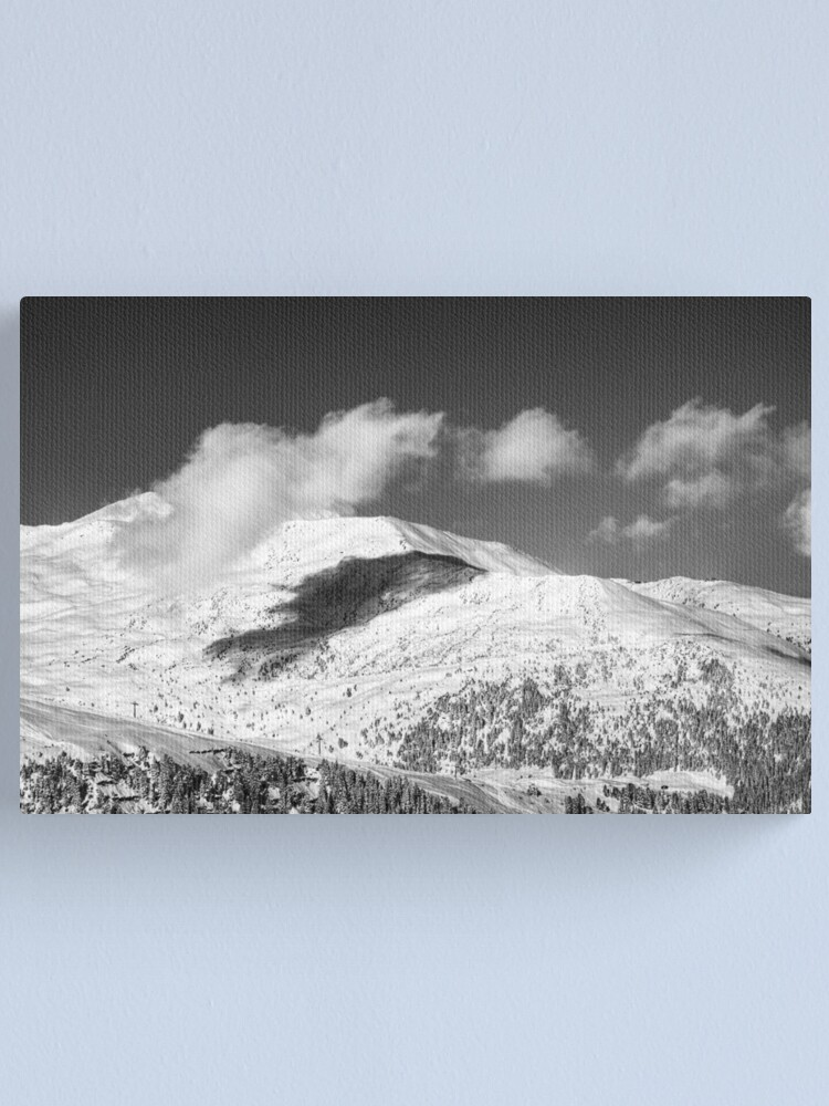 Alternate view of An Afternoon On Penken #12 (Mirrored) Canvas Print