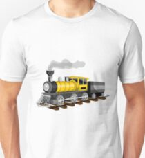 Camiseta ajustada Modern Train