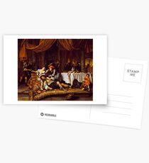 Jan Havicksz Steen - Samson and Delilah Postcards