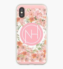 Niall floral design iPhone Case