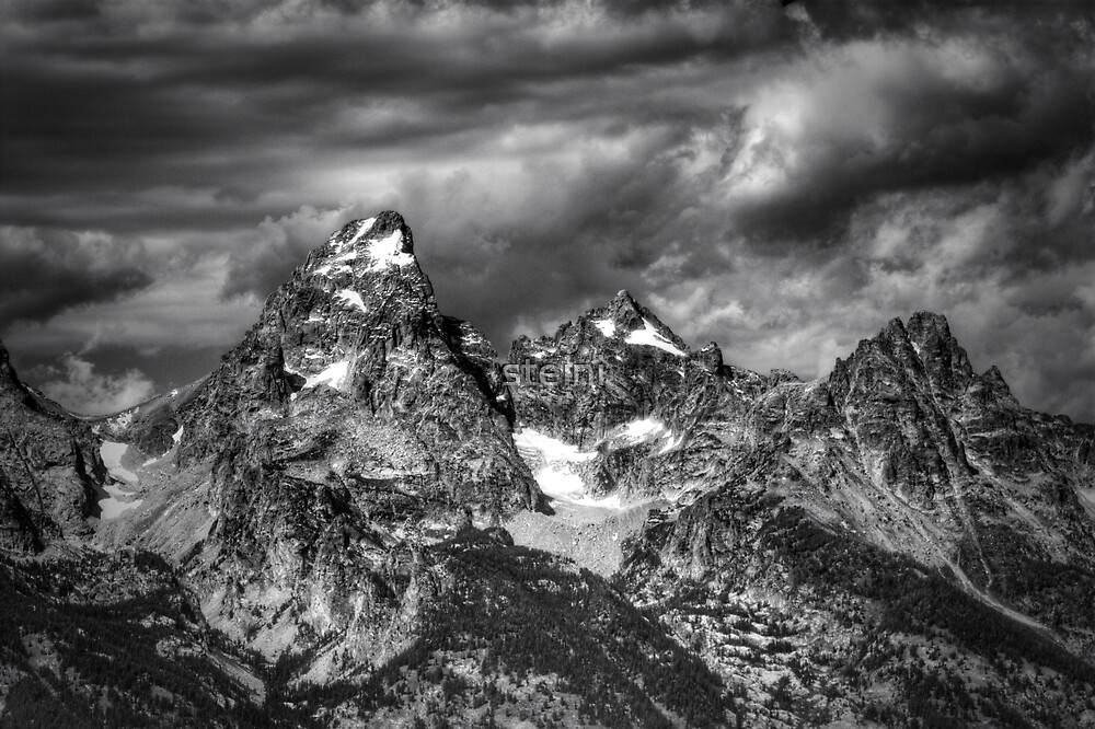 The Tetons by steini