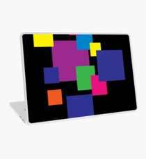 Abstract squares Laptop Skin