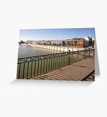 Triana. Greeting Card