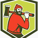 «Paul Bunyan Lumberjack» de GoOsiris