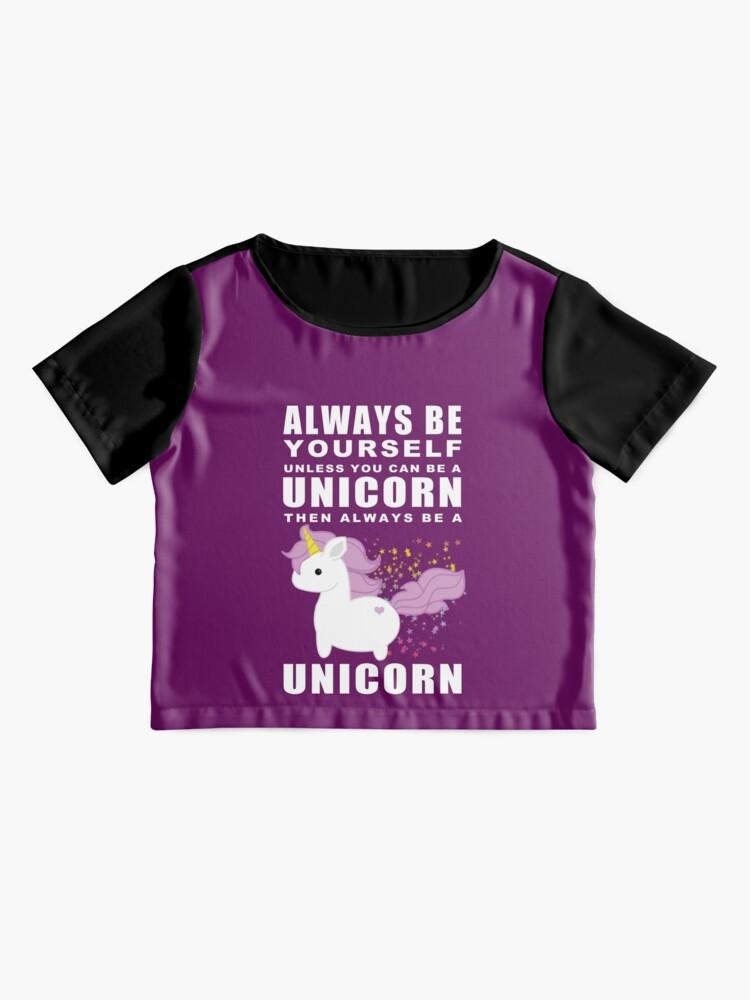 Vista alternativa de Blusa Siempre - Unicornio