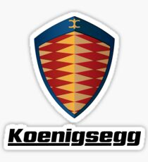 Koenigsegg logo Sticker