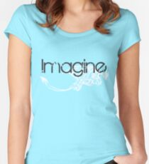imagine dragons Women's Fitted Scoop T-Shirt