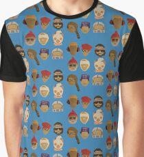 Wes Andersons Hüte Grafik T-Shirt