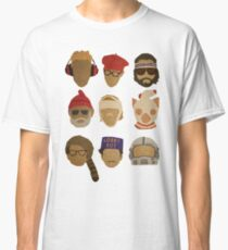 Wes Anderson's Hats Classic T-Shirt