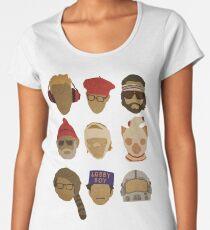 Wes Anderson's Hats Women's Premium T-Shirt