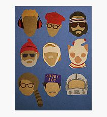 Wes Anderson's Hats Photographic Print
