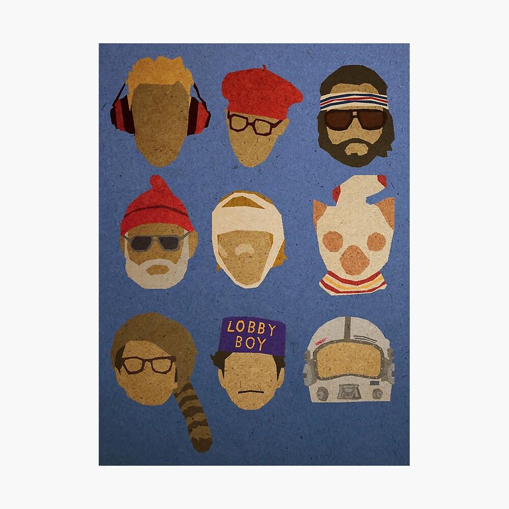 Sombreros de Wes Anderson Lámina fotográfica