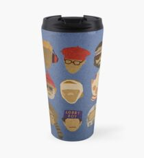 Wes Anderson's Hats Travel Mug