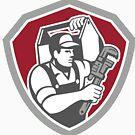 «Plumber Holding Tool Box» de GoOsiris
