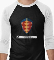 Koenigsegg logo Men's Baseball ¾ T-Shirt