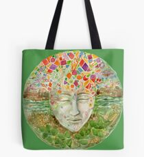 Mandala- meditation Tote Bag