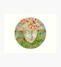 Mandala- meditation Art Print