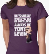 Always be Tony Levin Women's Fitted T-Shirt