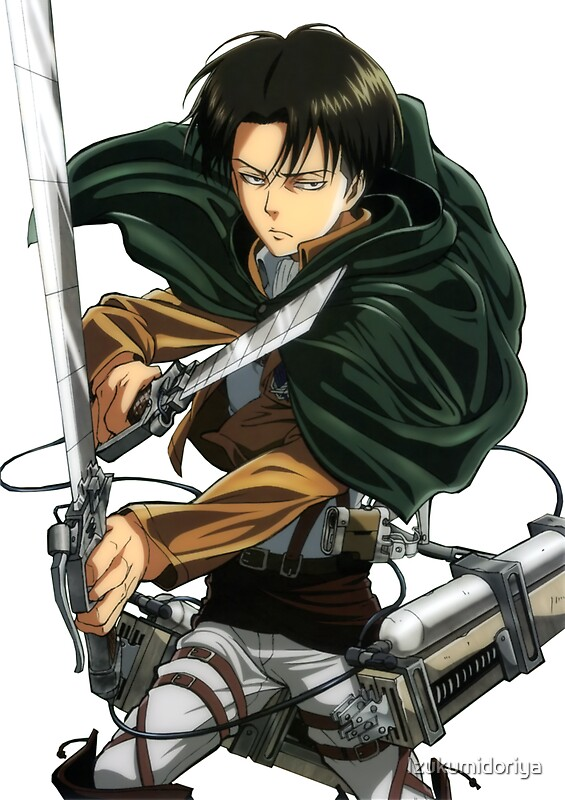 Levi ackerman attack on titan aot shingeki no kyojin snk by izukumidoriya