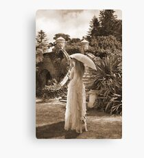 Victorian walk Canvas Print