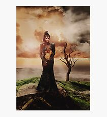 Villain Ladies - The Evil Queen Photographic Print