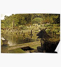 Tirta Gangga - Bali, Indonesia Poster