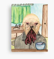 A Young Ood  Canvas Print