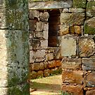 Ancient ruins by Karen Stackpole