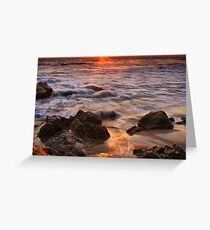 Glowing Sand Greeting Card
