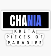Chania Crete - Pieces of paradise Sticker
