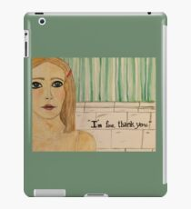 Margot Tenenbaum iPad Case/Skin