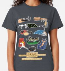 Greyhound Glossary: Bed Fail. A Redbubble exclusive design Classic T-Shirt