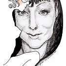Anthea Lady behind the mask by Ken Tregoning
