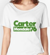 Carter Mondale 1976 70s politics Women's Relaxed Fit T-Shirt