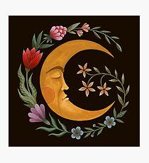 Lámina fotográfica Luna de verano