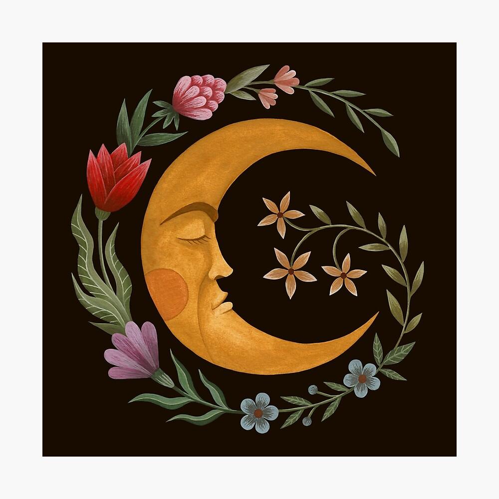 Luna de verano Lámina fotográfica