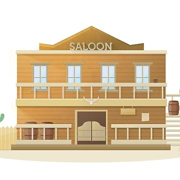 Western Saloon by bergern