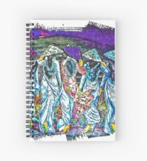 Pretty maids in a row Spiral Notebook