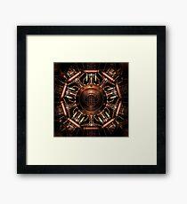 Mystic Steamage Mandala Framed Print