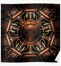 Mystic Steamage Mandala Poster