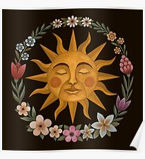 Midsummer Sun Poster