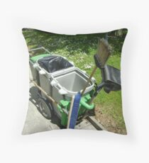 street-sweeping equipment Throw Pillow