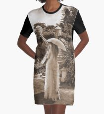 Victorian walk Graphic T-Shirt Dress