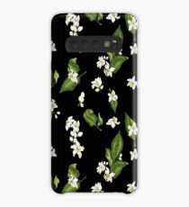 Pattern of citrus tree flowers with spring aroma mood Case/Skin for Samsung Galaxy